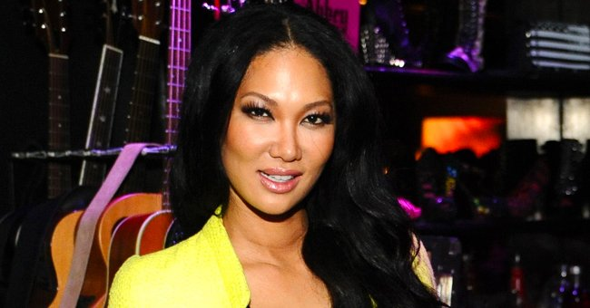 Kimora Lee Simmons Poses With Her 2 Mini-Me Daughters in Fancy Strapless Dresses in a New Photo