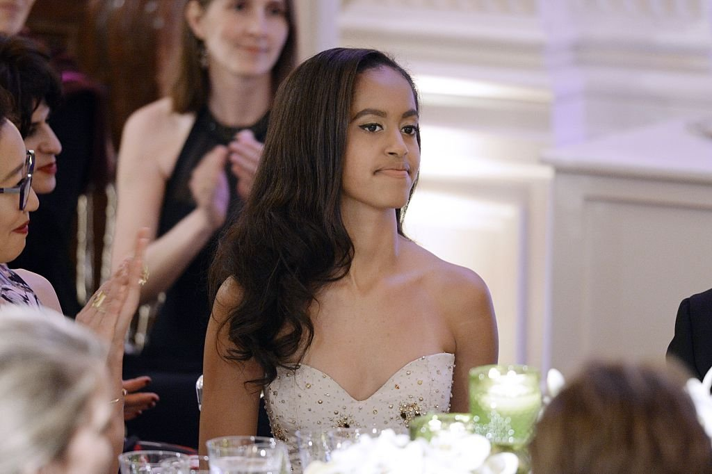 Malia Obama attends a State Dinner at the White House March 10, 2016 in Washington, D.C. Hosted by President and First Lady Obama | Photo: Getty Images
