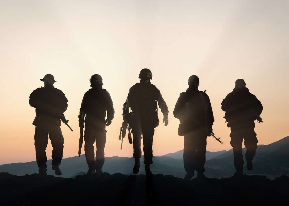 The general sent more men over the hill | Photo: Shutterstock