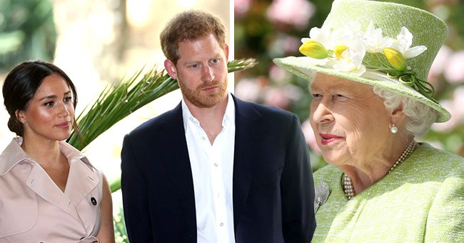 Prince Harry & Meghan Markle Slam Claims That Queen Elizabeth Was Not Asked about Lilibet's Name