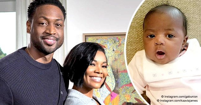 Gabrielle Union steals hearts with new photo of 'shocked' 1-month-old daughter in light pink outfit