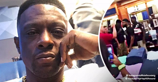 Rapper Boosie Badazz sues Dillard's for racial profiling after being pepper sprayed by white guard