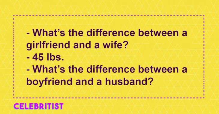 Top 5 jokes about marriage problems that will make adults burst out laughing