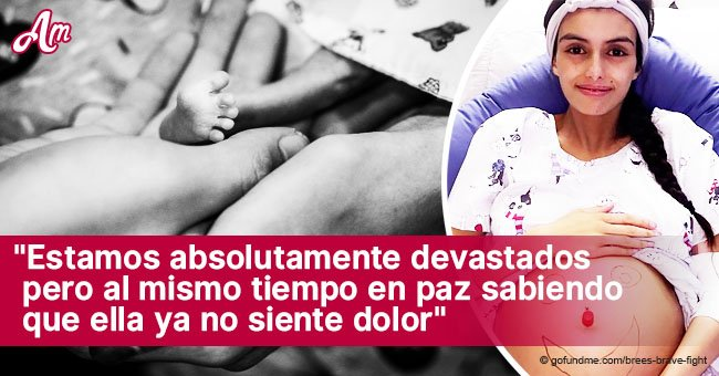 Madre y bebé recién nacido mueren tras ella posponer tratamiento de cáncer para salvar su vida