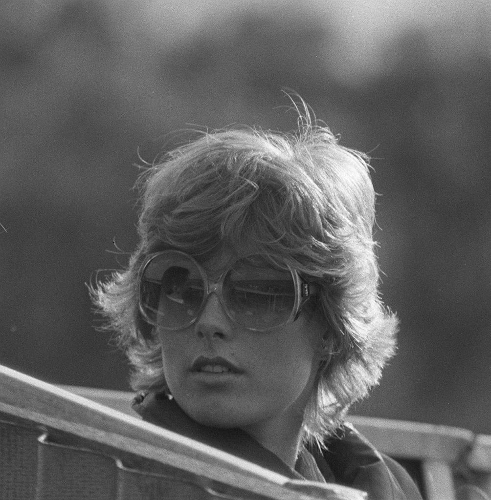 Anna Wallace attending a polo match in Windsor, January 1980   Source: Getty Images