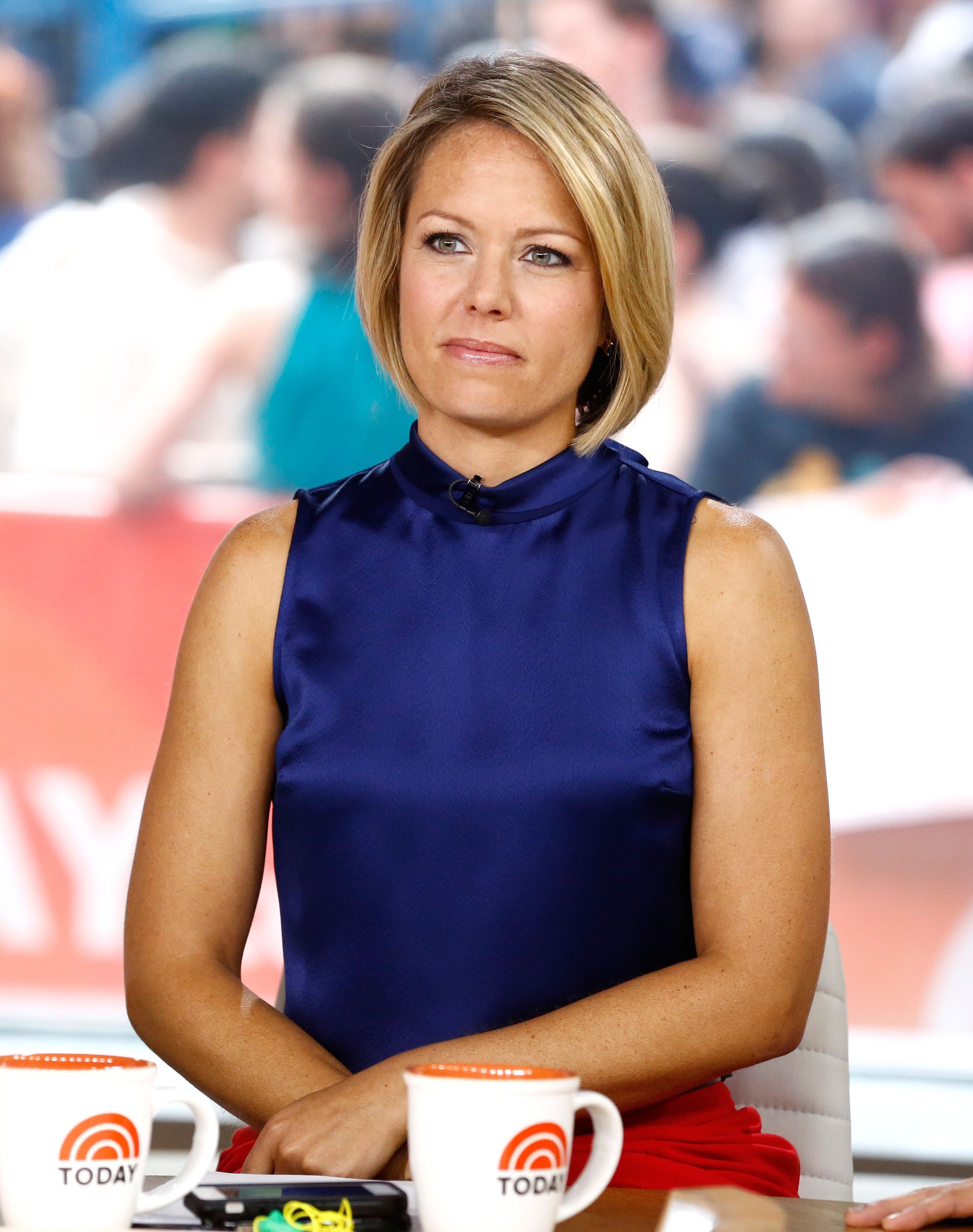 """Dylan Dreyer appears on season 63 of NBC News' """"Today"""" show on September 01, 2014 