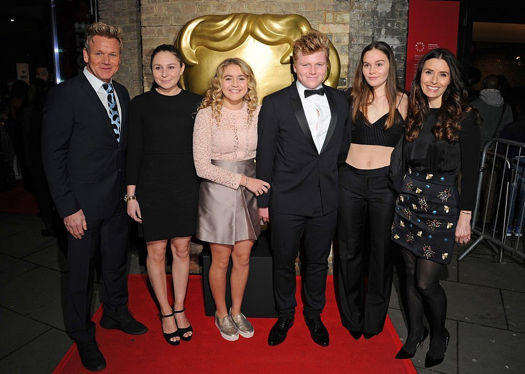 Gordon Ramsay and his family at the BAFTA Children's Awards | Getty Images