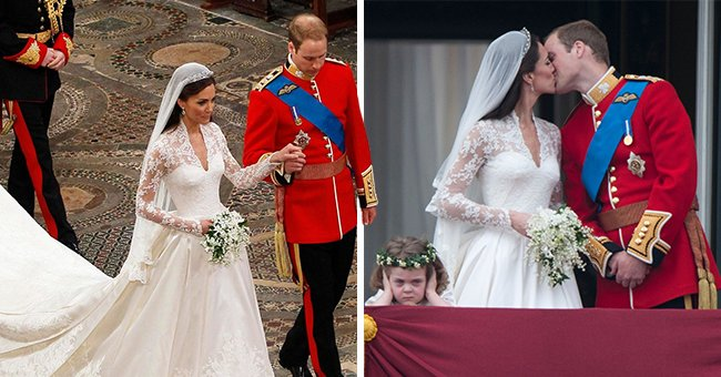 See Kate Middleton & Prince William's Bridesmaids, Including Grumpy Grace, And Pageboys 10 Years On