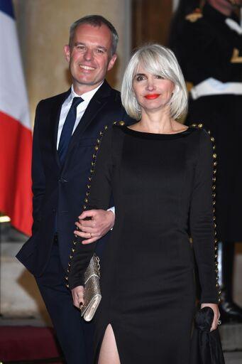 La photo de François de Rugy et son épouse Séverine | Source: Getty Images / Global Ukraine