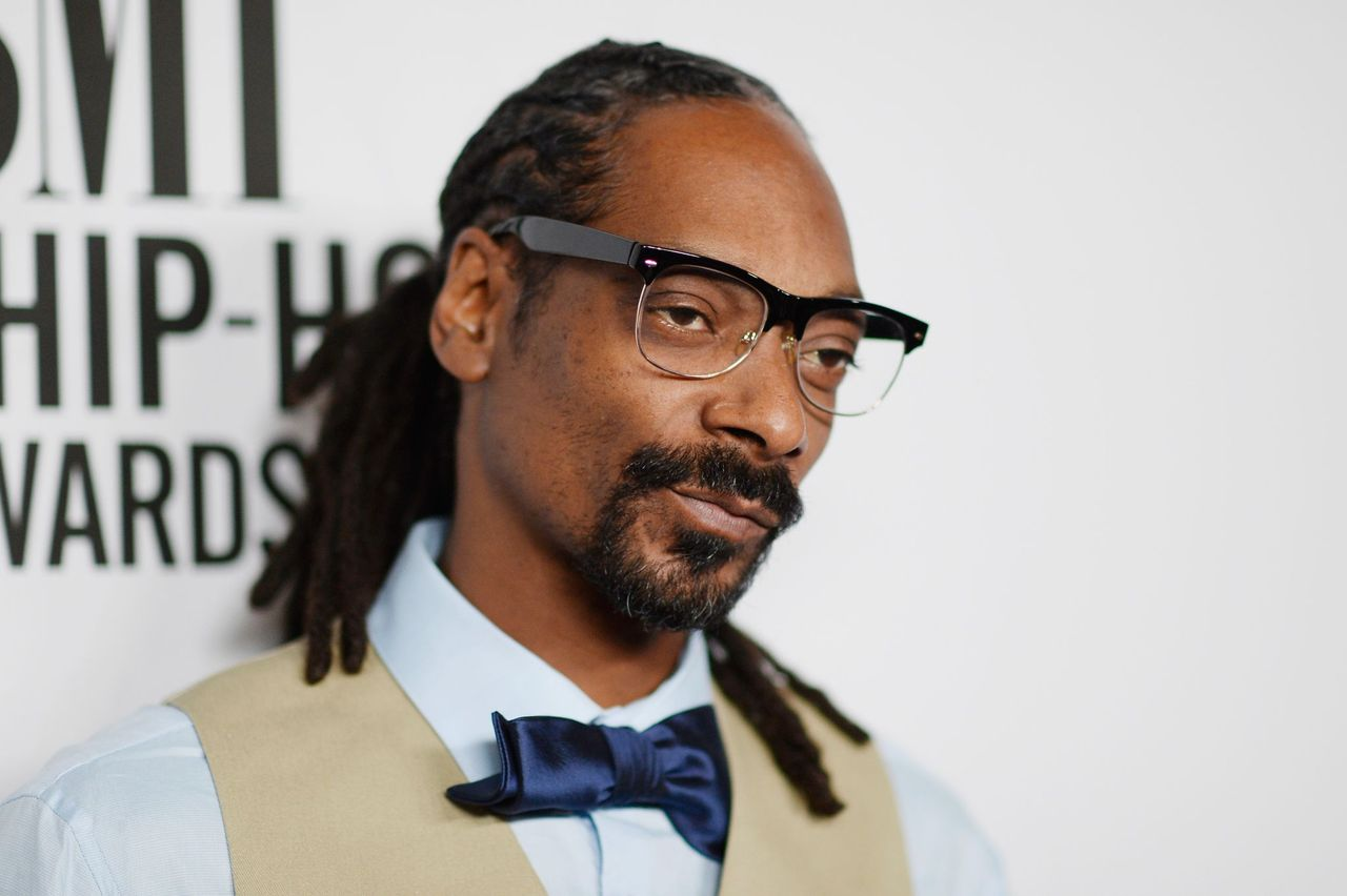 Snoop Dogg at the 2015 BMI R&B/Hip-Hop Awards at Saban Theatre in Beverly Hills, California on August 28, 2015.   Photo: Getty Images