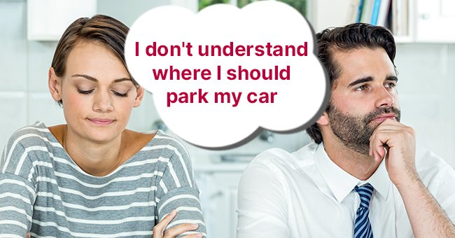 Daily Joke: Man and Woman Listen to the Weather Forecast to Find Out How Best to Park Their Car