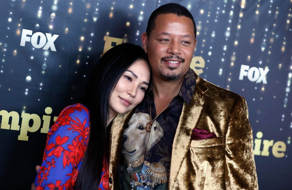 "Miranda Pak Howard and Terrence Howard attend ""Empire"" season 5 premiere at Lafayette 
