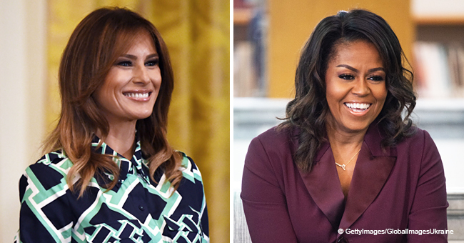 Melania Trump and Michelle Obama Have the Same 'Key' to a Happy Marriage