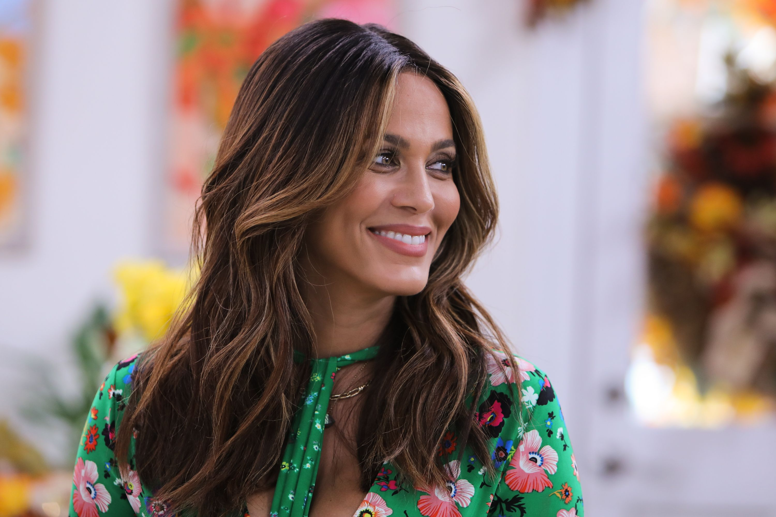 """Actress Nicole Ari Parker at Hallmark's """"Home & Family"""" at Universal Studios Hollywood on October 4, 2018 