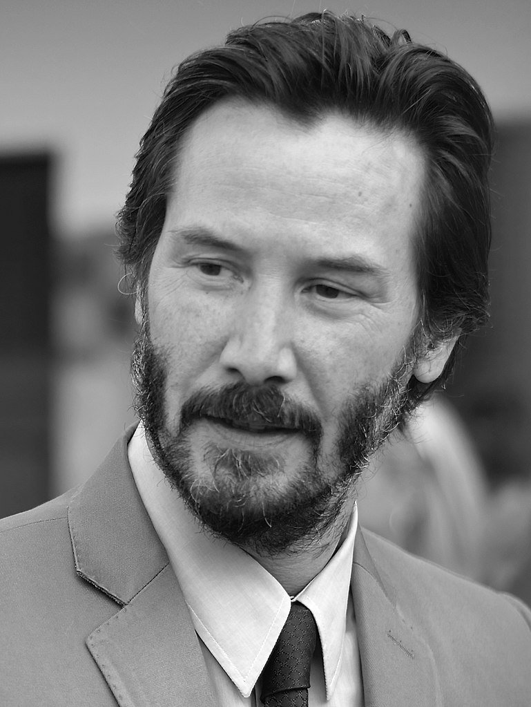 Keanu Reeves at the 41st American Film Festival | Source: Wikimedia Commons