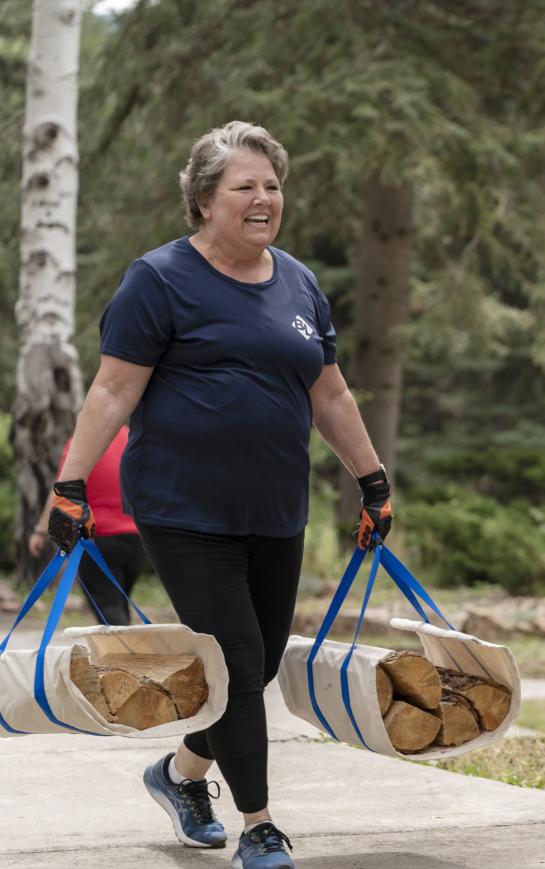 """Kim Davis pictured during episode 103 of """"The Biggest Loser."""" 