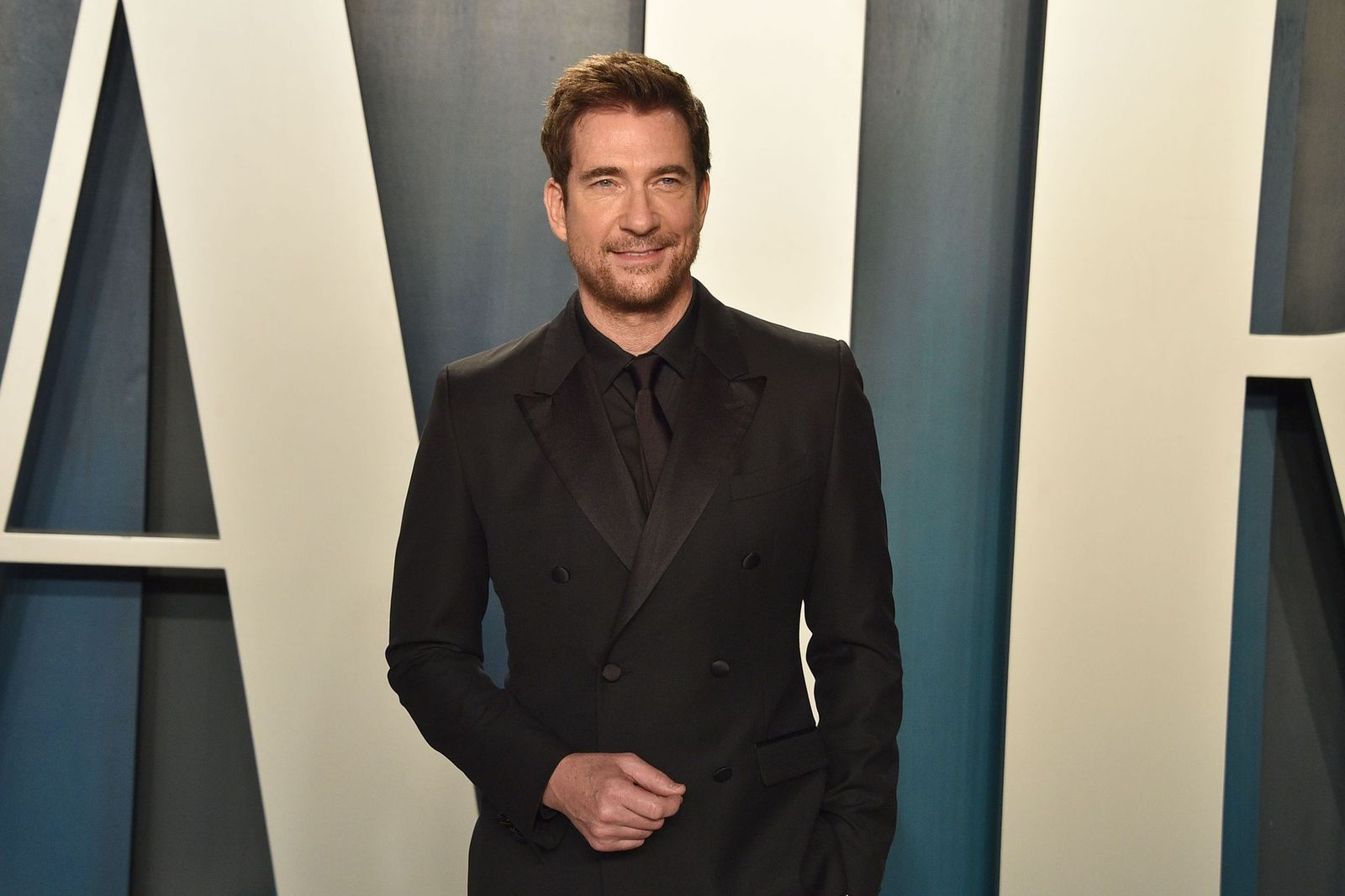Dylan McDermott at the Vanity Fair Oscar Party on February 09, 2020, in Beverly Hills, California | Photo: David Crotty/Patrick McMullan/Getty Images
