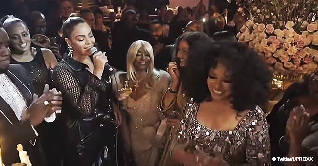 Beyonce Sings 'Happy Birthday' to Diana Ross at Her Extravagant 75th Birthday Party