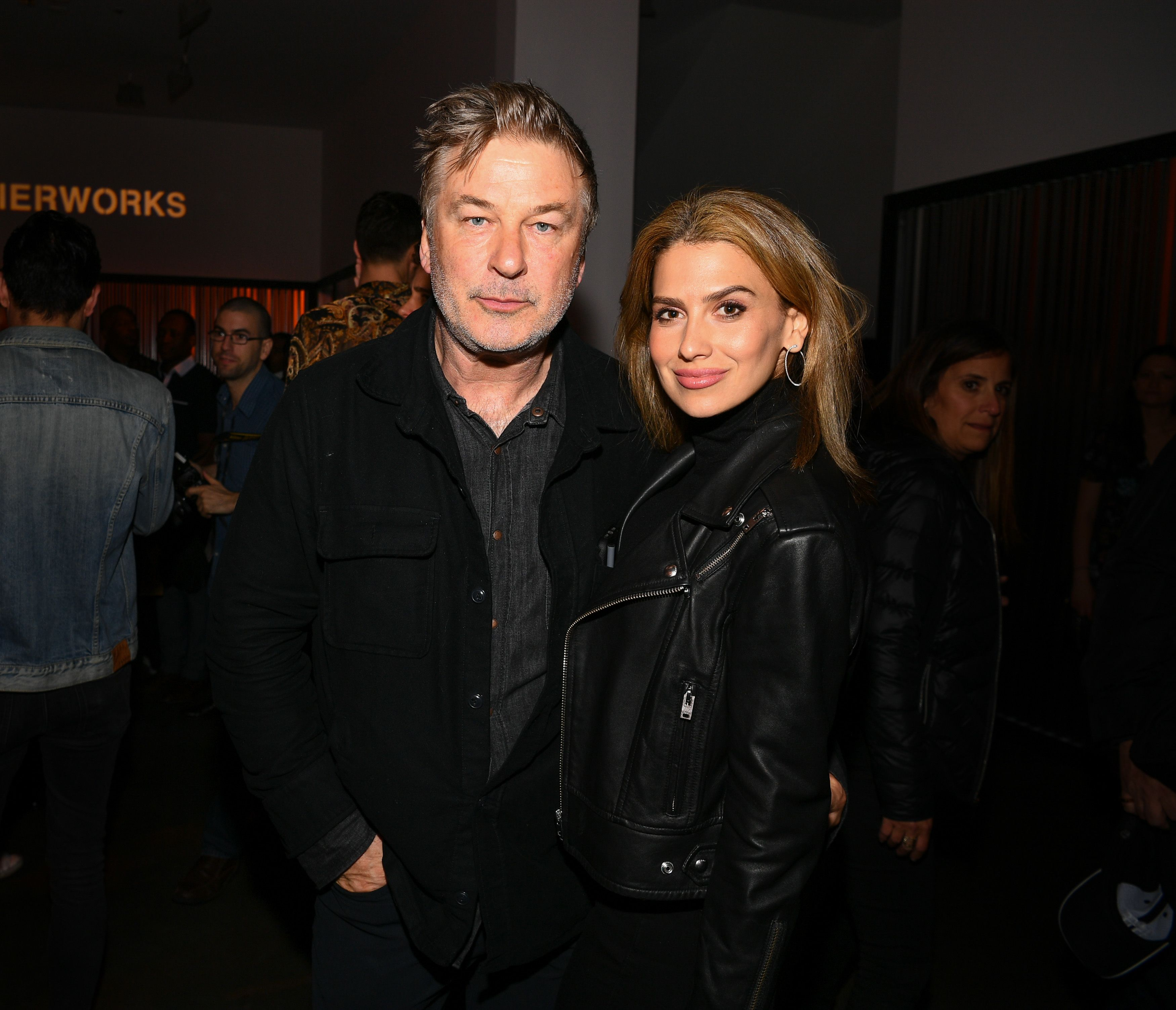 Alec and Hilaria Baldwin at the Tribeca Film Festival After-Party on April 26, 2019, in New York City | Photo: Dave Kotinsky/Getty Images