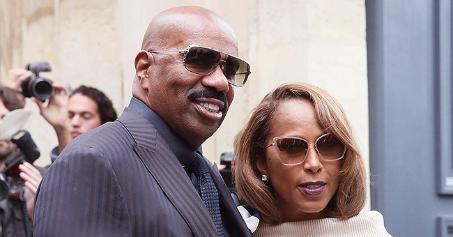 Steve Harvey Fills a Room with Roses and Gifts for Wife Marjorie on Mother's Day