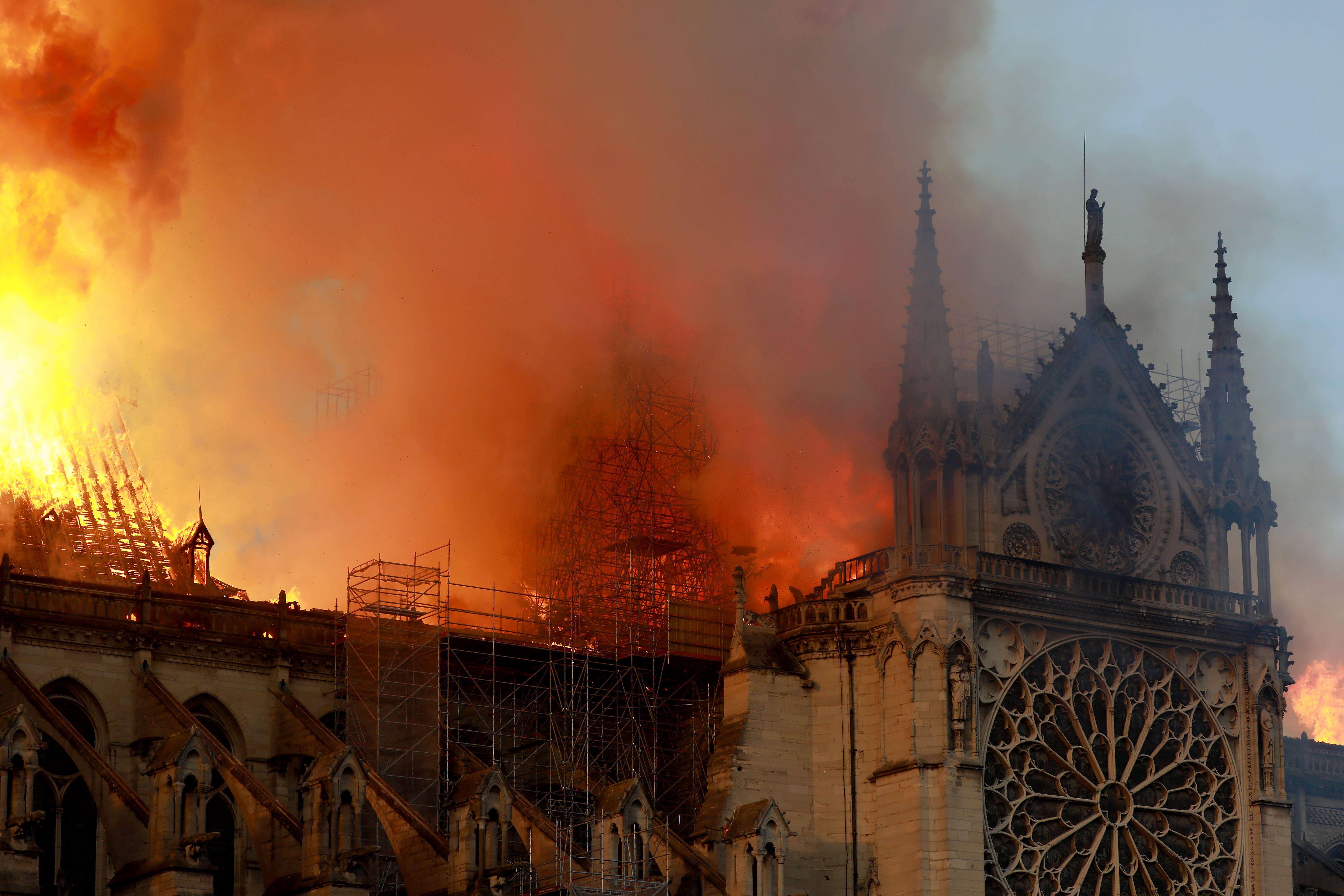 Incendie de Notre-Dame   Source : Getty Images