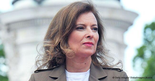 """Valérie Trierweiler rend hommage à un homme proche qu'elle appelait """"mon président"""""""