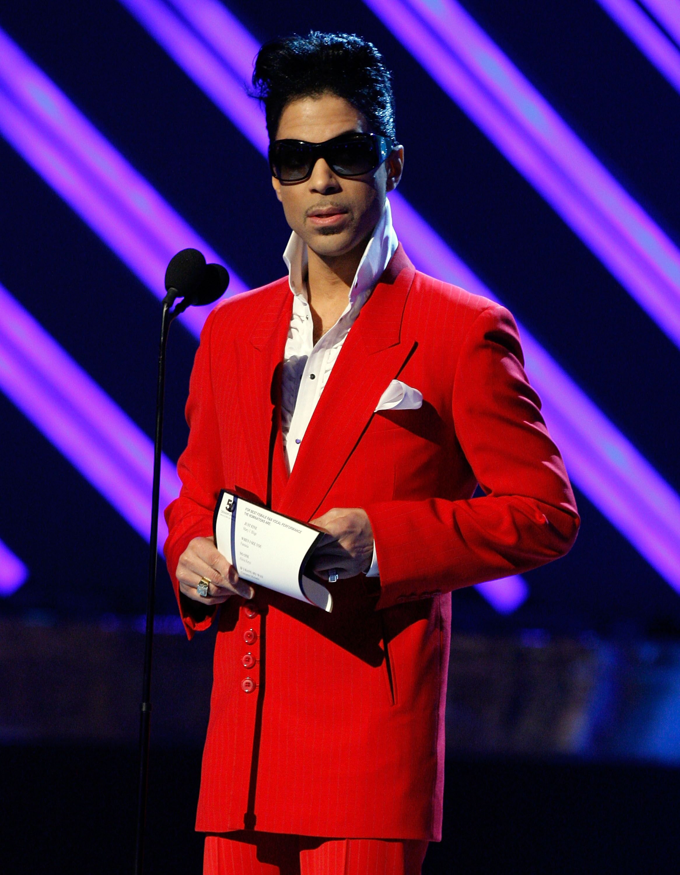 Prince / Source : getty Images