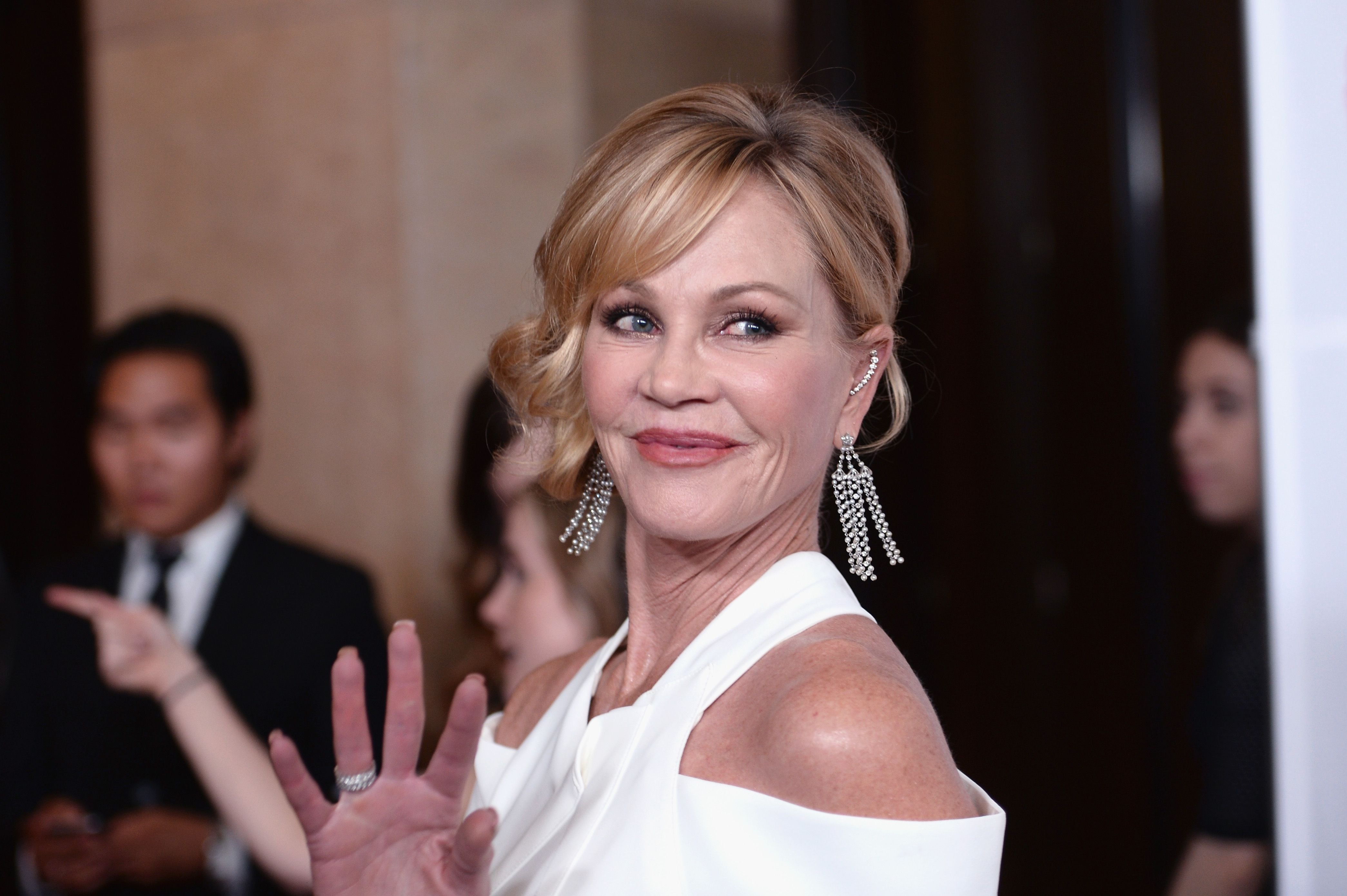 Melanie Griffith at the 2016 Carousel Of Hope Ball in Beverly Hills   Source: Getty Images