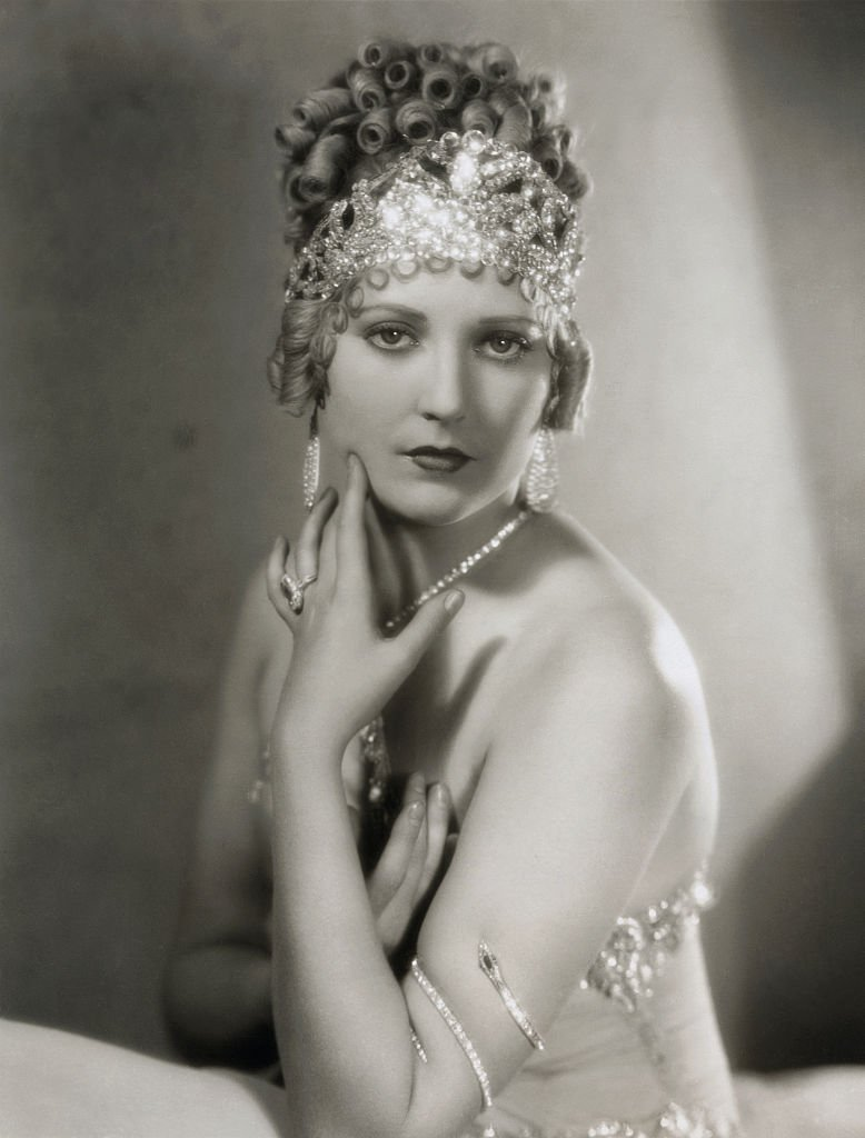 A portrait of Thelma Todd in Vamping Venus a First National Picture circa 1928   Photo: Getty Images