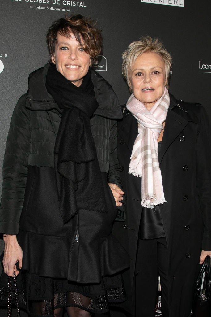 Anne Le Nen et Muriel Robin en février 2019. Photo : Getty Images