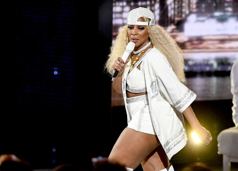 Mary J. Blige performing at a gig | Source: Getty Images/GlobalImagesUkraine