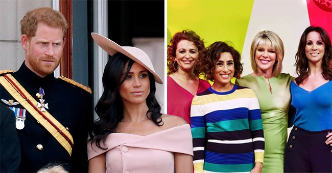 'Loose Women' Stars Slam Prince Harry & Meghan Markle's New Book Saying They Abandoned Britain