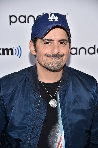 Brad Paisley at SiriusXM Studios on November 18, 2019 in New York City. | Photo: Getty Images