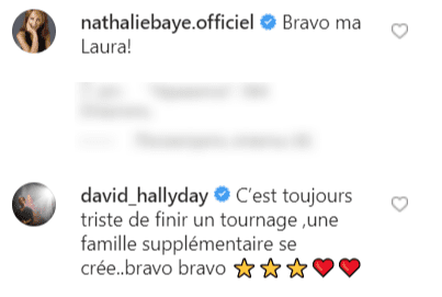 Commentaires de David Hallyday et de Nathalie Baye sur la video de Laura Smet | Photo : Instagram / Laura Smet