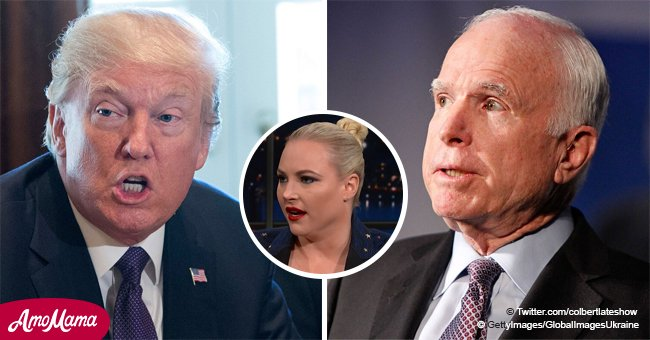 Meghan McCain gets harsh as she explains her forever 'beef' with the Trump family