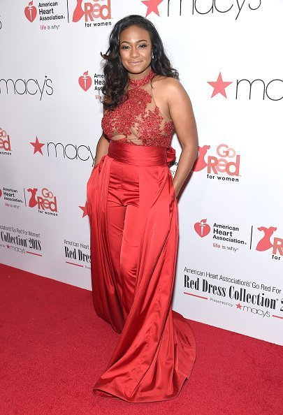 Tatyana Ali attends the Red Dress / Go Red For Women Fashion Show at Hammerstein Ballroom in New York City. | Photo: Getty Images