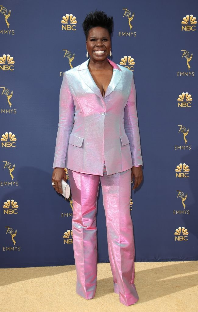 Leslie Jones at the 70th Emmy Awards on Sept. 17, 2018 in California | Photo: Getty Images