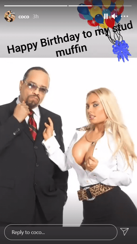Coco Austin shares a picture with her husband in tribute to his birthday. | Photo: Instagram/Coco