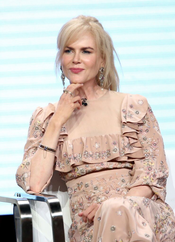 Nicole Kidman of 'Top of the Lake: China Girl'' speaks onstage during the Sundance TV portion of the 2017 Summer Television Critics Association Press Tour | Getty Images
