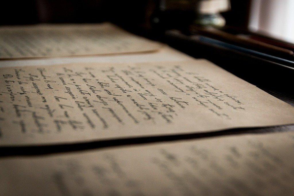 Cartas viejas. | Imagen: Picryl