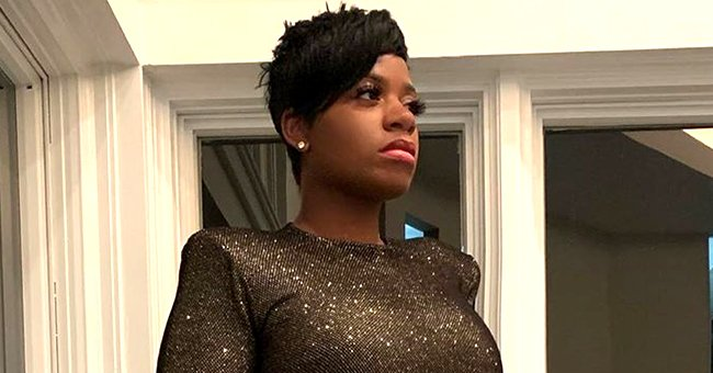 Fantasia's Daughter Zion Flaunts Natural Afro Hair in Cute Selfies While Posing in a Black Top
