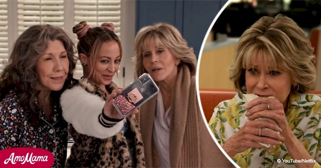 Jane Fonda and Lily Tomlin take selfies in new 'Grace & Frankie' trailer