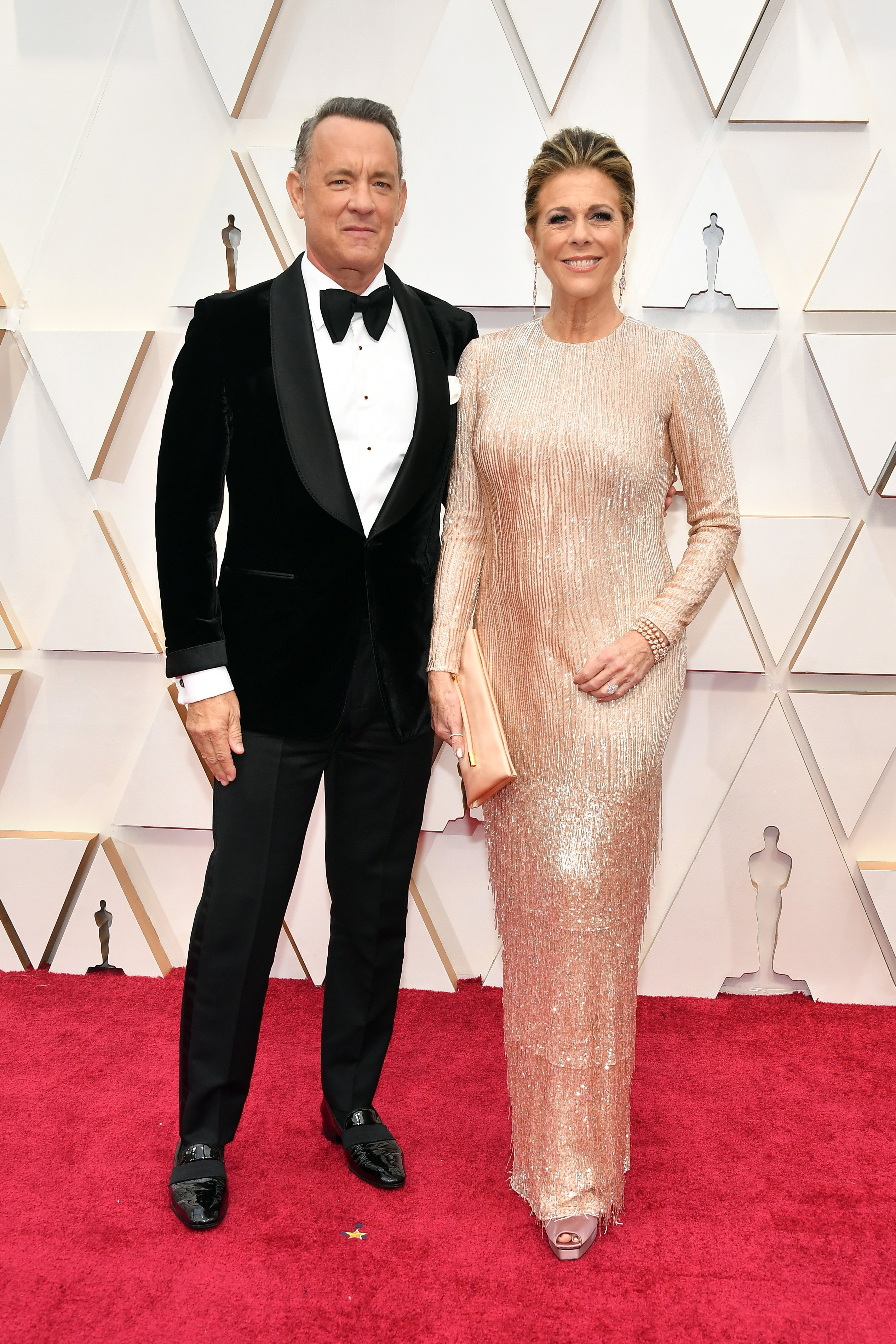 Tom Hanks and Rita Wilson attend the 92nd Annual Academy Awards at Hollywood and Highland on February 09, 2020 in Hollywood, California.  Source: Getty Images