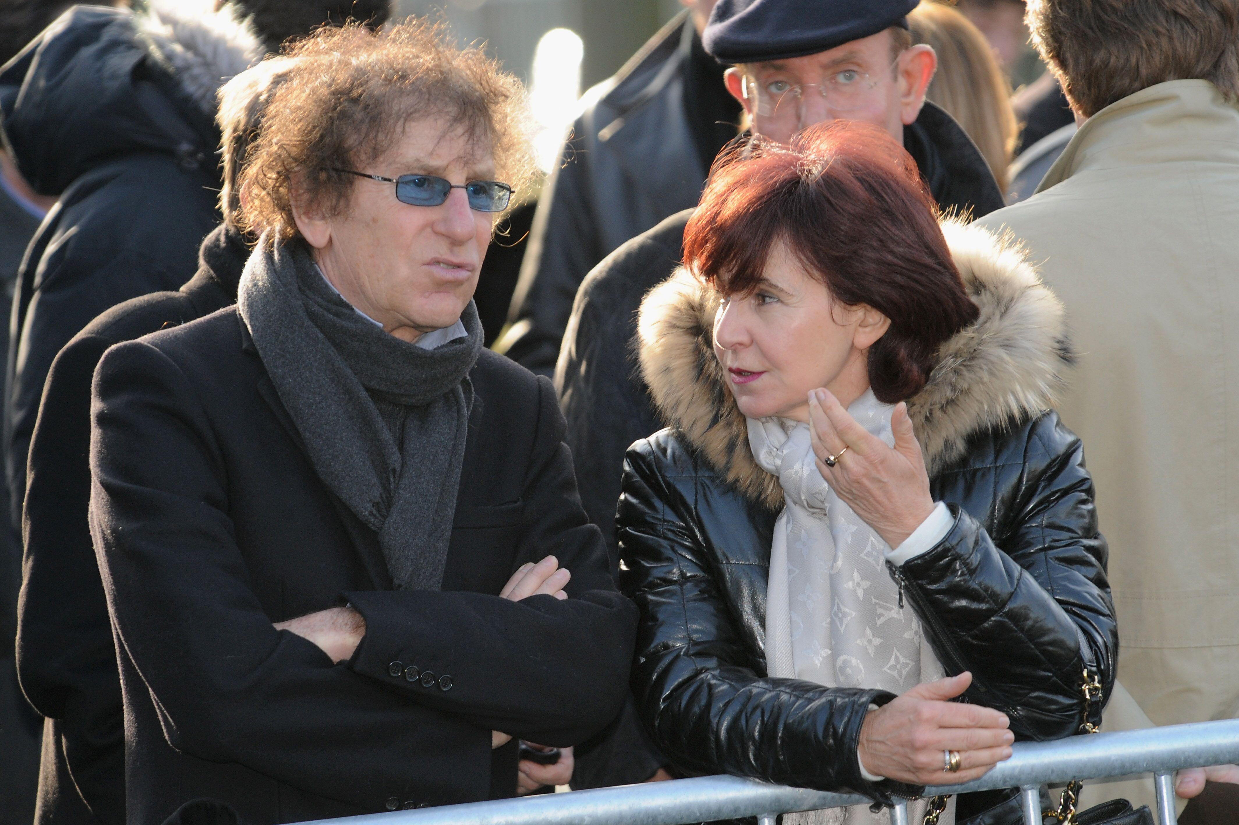 Alain Souchon avec sa femme Francoise. | Photo : GettyImage