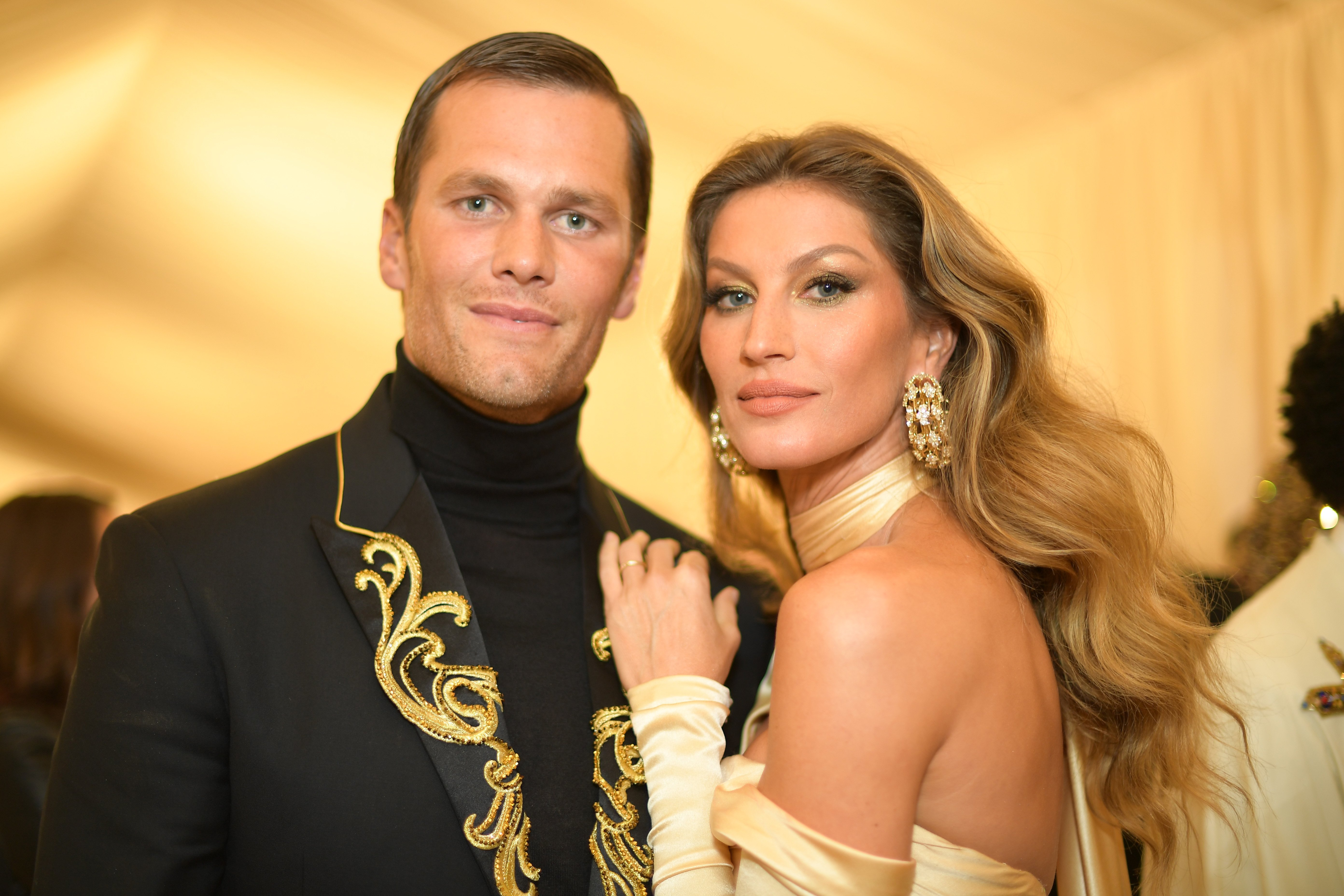 Tom Brady and Gisele Bundchen attend the Heavenly Bodies: Fashion & The Catholic Imagination Costume Institute Gala at The Metropolitan Museum of Art on May 7, 2018 in New York City   Photo: Getty Images