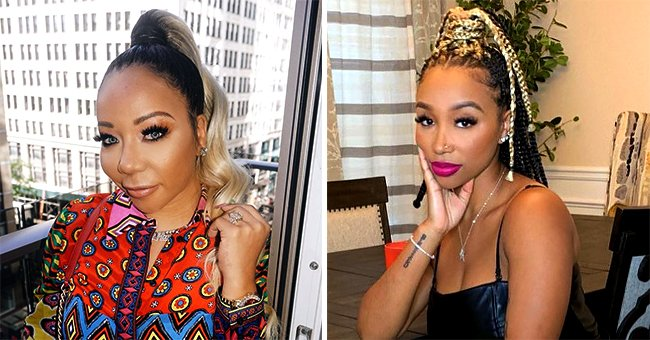 Tiny Harris' Daughter Zonnique Poses with Waist-Length Braids in a Photo
