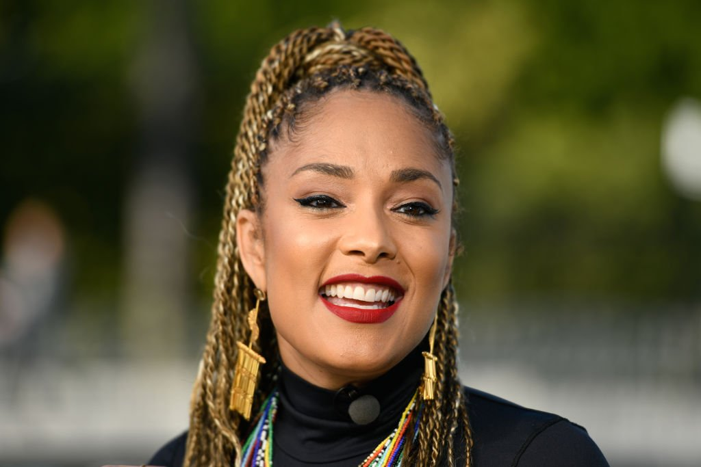 Amanda Seales at Universal Studios Hollywood on February 11, 2019 in Universal City, California   Photo: Getty Images