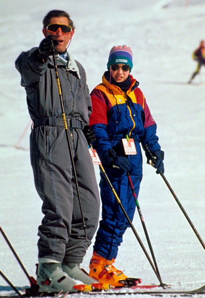 Prince Charles and Prince William enjoy a skiing holiday | Photo: Getty Images