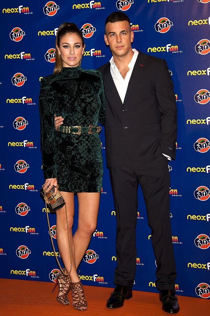 """Blanca Suárez y Mario Casas en los """"Neox Fan Awards"""".  Fuente: Getty Images"""