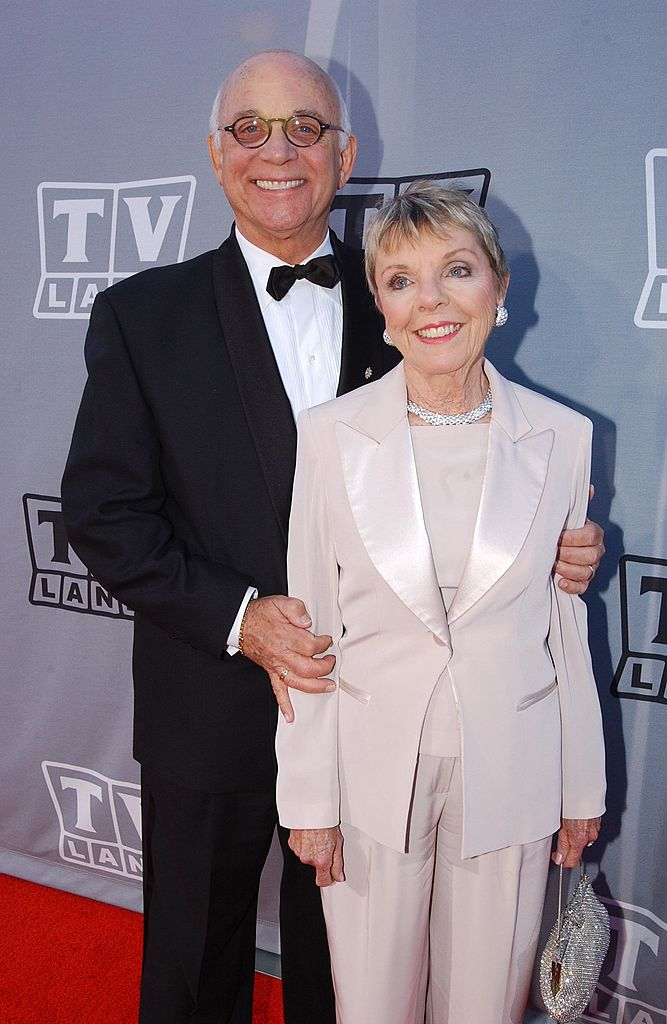 Gavin MacLeod and wife Patti a the TV Land Awards 2003 on March 2, 2003 | Photo: GettyImages